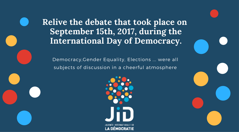 Relive the debate that took place on Friday 15 September 2017 during the International Day of Democracy. (3)