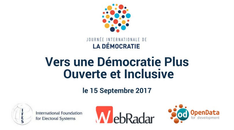 International Day of Democracy (JID) – For an Open and Inclusive Democracy